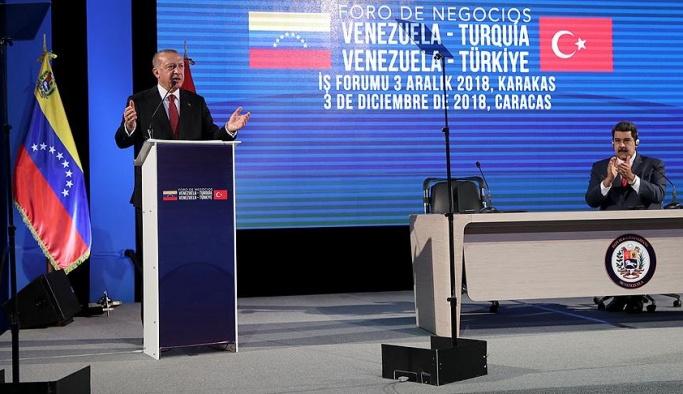 'Saldırılara karşı Venezuela'nın yanındayız'