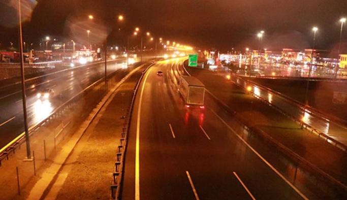 TEM Bolu Ankara yönü trafiğe açıldı