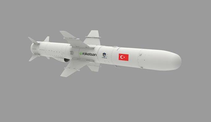 Türkiye'nin ilk deniz füzesi seri üretime geçiyor