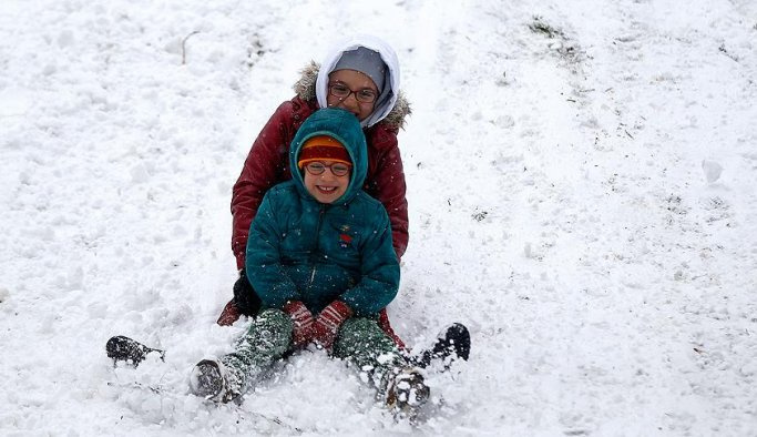 13 ilde okullara kar tatili