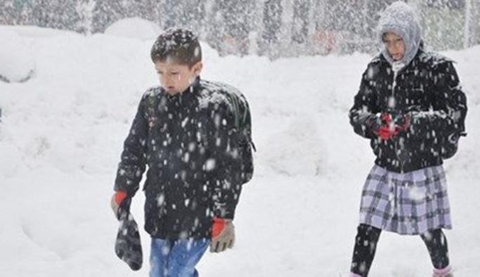 17 Ocak 2019 Perşembe okullar tatil edilen iller