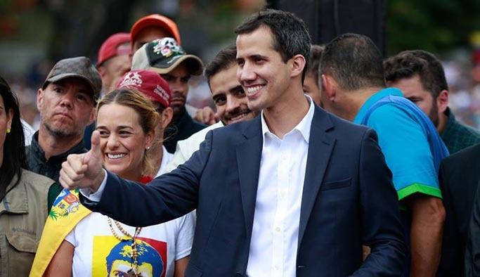 ABD Venezuela mallarının kontrolünü muhalefet liderine verdi