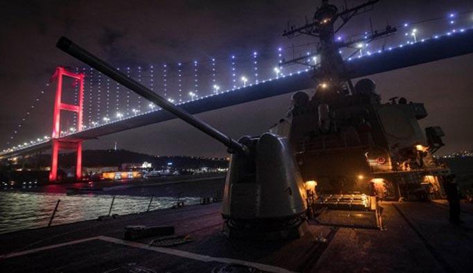 ABD'nin 6. Filo'ya ait savaş gemisi Karadeniz'e açıldı