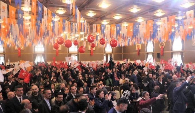 AK Parti Isparta Aday Tanıtım Toplantısı
