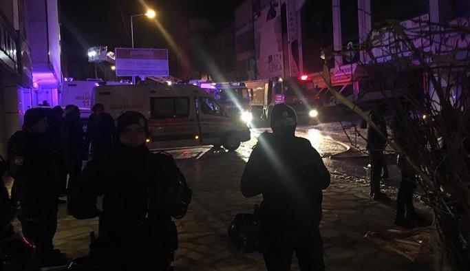 Ankara'da yangın faciası, ölü var