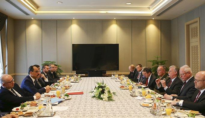 Ankara'daki kritik görüşme başladı