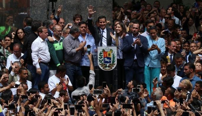 AP de Venezuela'daki paralel başkanı tanıdı