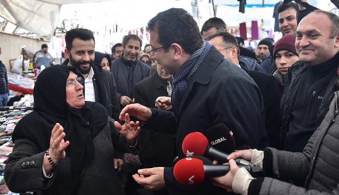 CHP İstanbul adayına vatandaştan soğuk duş