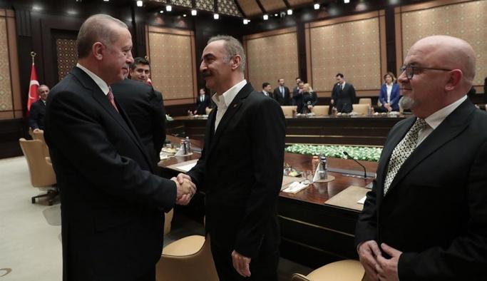 Cumhurbaşkanı Erdoğan, sinema temsilcileriyle buluştu
