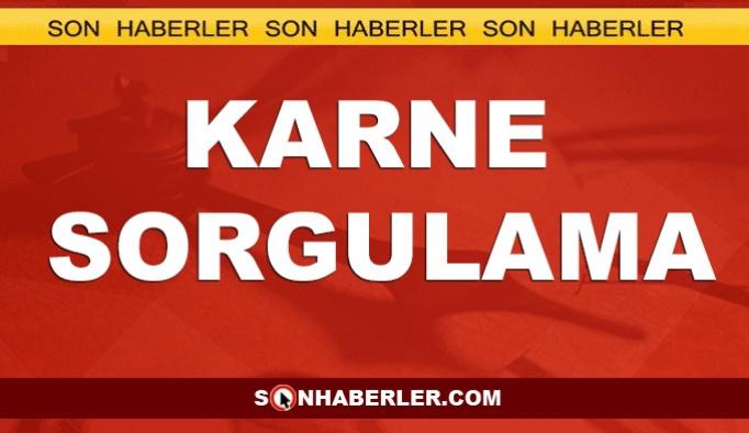 e-Okul VBS Giriş: 2019 Karne sorgulama