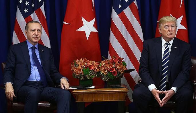 Erdoğan ile Trump arasında 'tehdit'ten sonra ilk görüşme