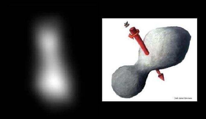 Güneş sistemine en uzak cisim görüntülendi