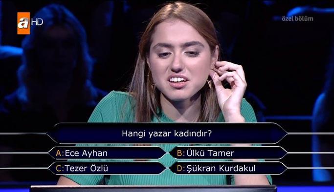 Hangi yazar kadındır: Ece Ayhan, Ülkü Tamer, Tezer Özlü, Şükran Kurdakul