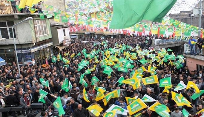 HÜDA PAR'ın çekilmesi sonuçları etkiler, HDP bazı belediyeleri kaybeder