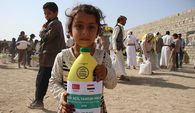 İDDEF'in Yemen'e yardımları sürüyor