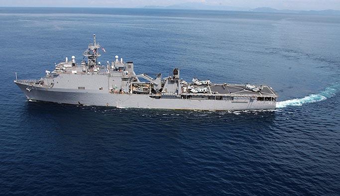 Karadeniz ısınıyor, ABD çıkartma gemisi bölgede