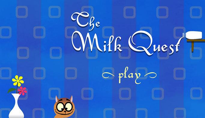 Kedi süt oyunu oyna - Çocuk Oyunları