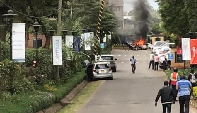 Kenya'nın başkentinde patlama