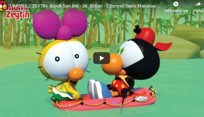 Limon ile Zeytin İzle | Çizgi Film
