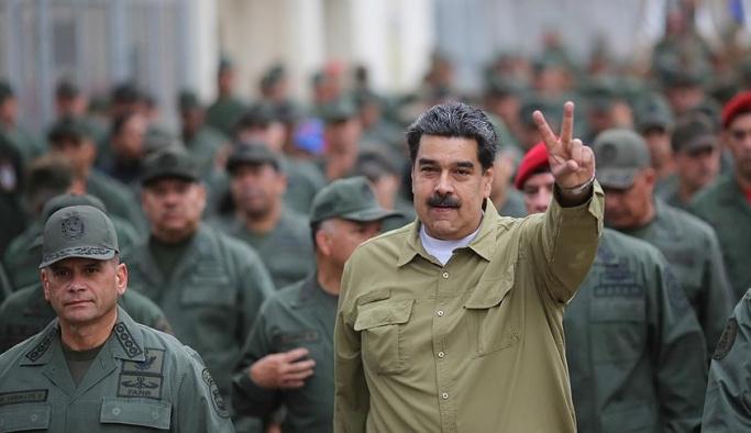 Maduro: ABD petrolümüze el koymak istiyor