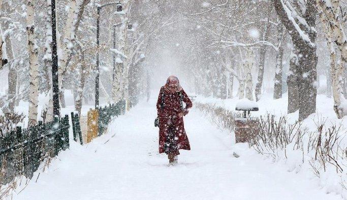 Meteorolojiden iki il için kuvvetli kar uyarısı