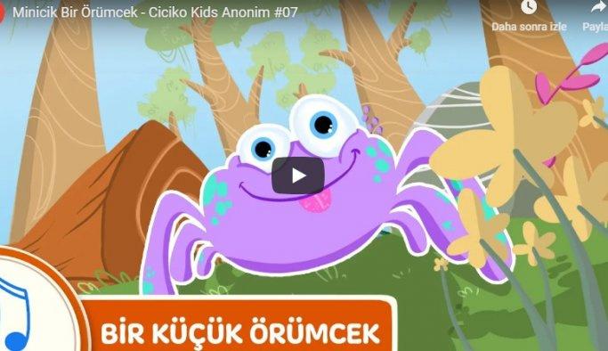 Minik örümcek dinle - Çocuk Şarkıları
