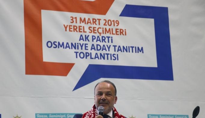 Osmaniye'de AK Parti belediye başkan adayları tanıtıldı