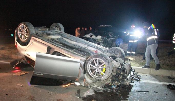 Sakarya'da trafik kazası: 1 ölü, 3 yaralı