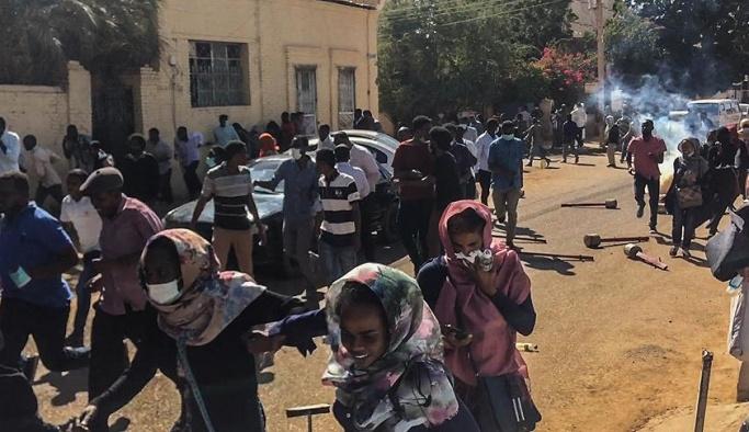 Sudan'daki gösterilerde ölü sayısı artıyor