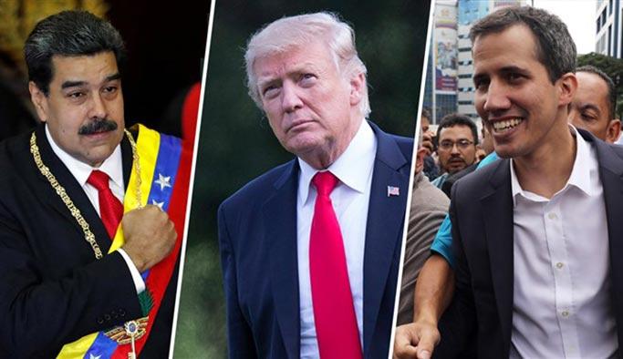 Trump, Venezuela'da savaş istiyor