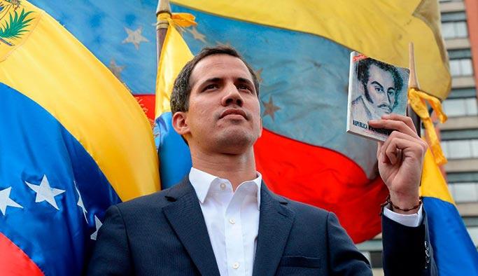 Trump, Venezuela'nın paralel başkanını aradı