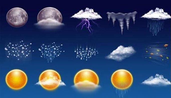 Türkiye geneli 5 günlük hava durumu - HARİTALI