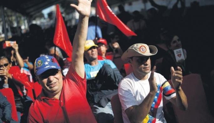 Venezuela halkı 'vatan nöbetleri'ne başladı