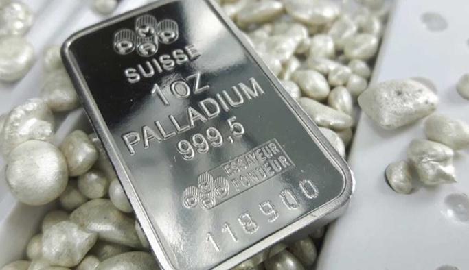 Altını tahtından indiren maden 'Paladyum'