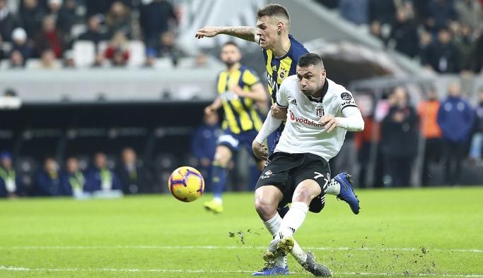 Beşiktaş ve Fenerbahçe'den ilginç bir derbi