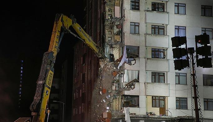 Çöken bina milat oldu, Kartal'da yıkımlar başladı