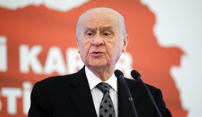 Devlet Bahçeli'den Mustafa Şentop açıklaması