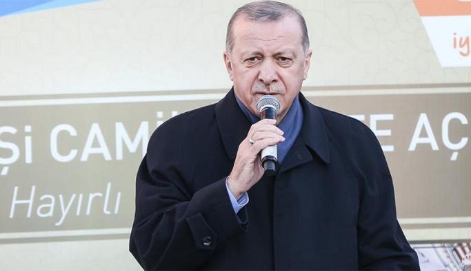 Erdoğan: Evinizi müteahhide vermek mecburiyetinde değilsiniz