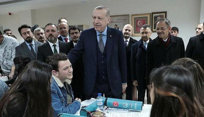 Erdoğan'dan Ankara'ya metrobüs müjdesi