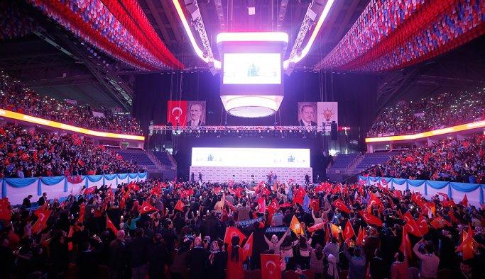 Erdoğan İstanbul sandık başkanlarıyla buluştu