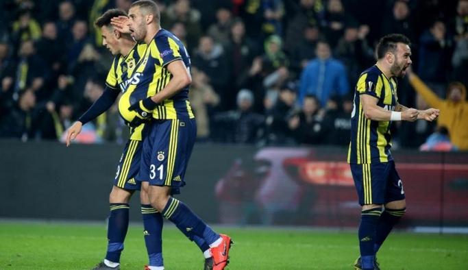Fenerbahçe Avrupa'da avantaj yakaladı