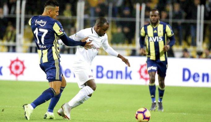 Fenerbahçe kendi evinde kazanamadı
