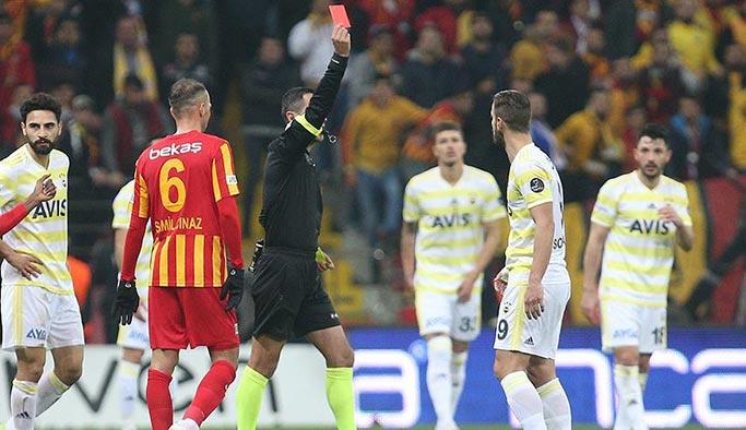 Fenerbahçe'nin çıkışı Kayseri'ye takıldı