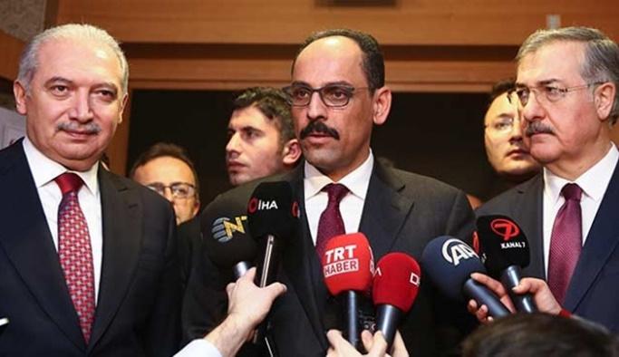 'Gülen yakalandı' iddialarına Kalın'dan açıklama
