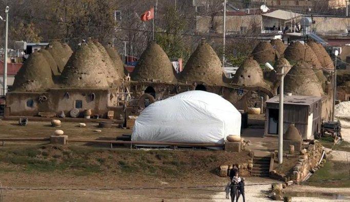 Harran'ın tarihi evleri elden geçirilecek