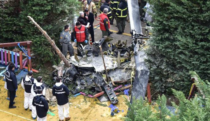 Helikopter kazasında flaş gelişme, görevden alındı