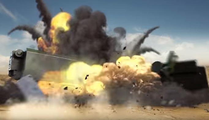 İsrail kamikaze İHA reklamında Türkiye'nin alacağı füzeleri vurdu
