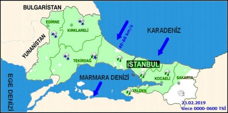 İstanbul'da hafta sonu hava durumu nasıl olacak - kar yağacak mı?