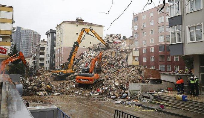 Kartal'daki riskli binaların tamamı yıkıldı
