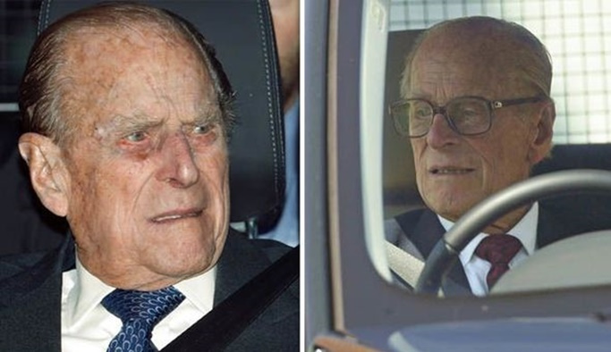 Kaza yapan 97 yaşındaki prensin ehliyeti alındı